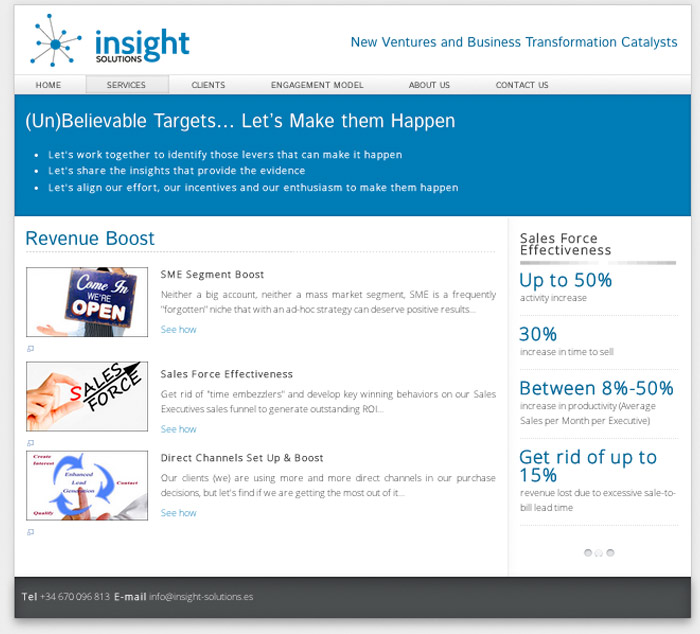 insight-solutions web