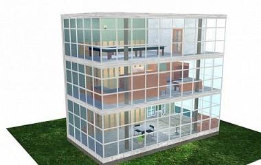 Proyecto edificio 3D | Arquitectura y modelado en 3D en Gipuzkoa