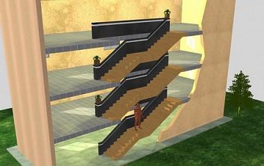 Proyecto escaleras 3D | Arquitectura y modelado en 3D en Gipuzkoa