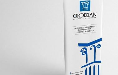 Ordizian Elkartea | Roll up erakusketari | Ordizia (Gipuzkoa)
