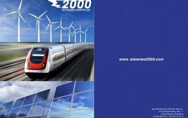 Aislantes Eléctricos 2000, diseño de catálogo multimedia en Gipuzkoa