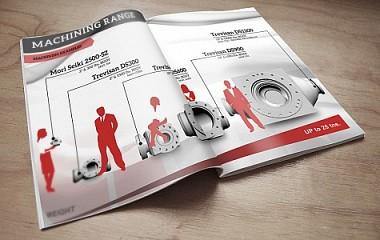 Talleres Mecánicos ARRI | Diseño de catálogo e infografía | Beasain (Gipuzkoa)