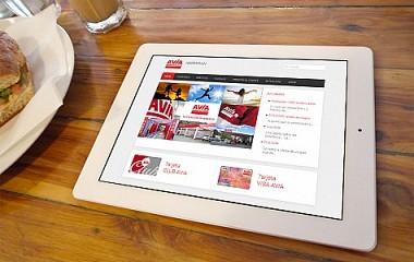 Gasolinera AVIA Arriaran | Diseño web responsive Tolosa (Gipuzkoa)