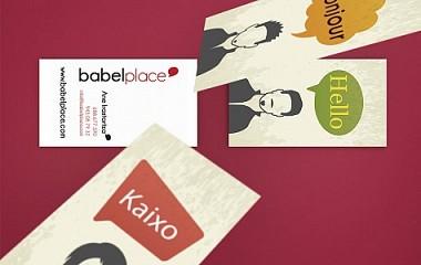 Babel Place | Diseño de logotipo y papeleria en Donosti (Gipuzkoa)