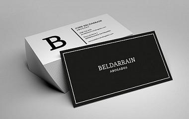 BELDARRAIN abogados | diseño de logotipo y desarrollo de página web profesional en San Sebastian (Gi