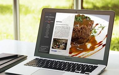 Restaurante Casa Vergara | Diseño de web Responsive en Donosti - San Sebastian (Gipuzkoa)
