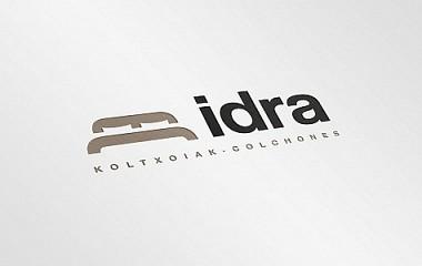 IDRA koltxoiak | diseño de logotipo y rotulación en Irura (Gipuzkoa)