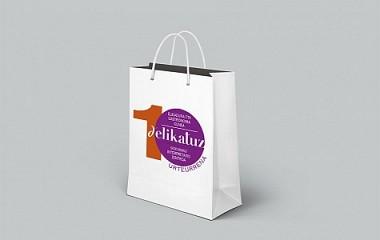 Delikatuz Zentroa: bolsas de papel | Ordizia