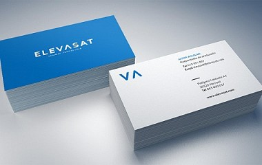 Elevasat | diseño de logotipo, papeleria y página web, Hernani (Gipuzkoa)