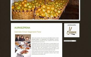 Errezil Sagarra | diseño de logotipo | diseño web Gabiria (Gipuzkoa)