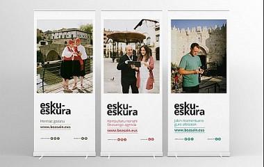 Campaña publicitaria para dar a conocer el nuevo website del Ayuntamiento de Beasain