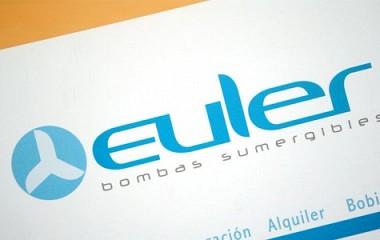 Euler, diseño de logotipo, diseño de carpeta y catálogo. Zaldibia (Gipuzkoa)