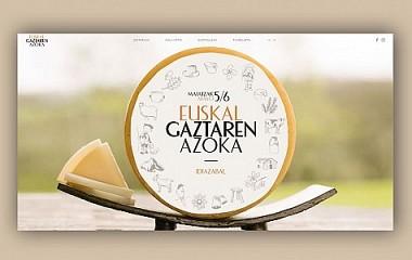 Euskal Gaztaren Azoka - Idiazabal | web garapena eta diseinua (Gipuzkoa)