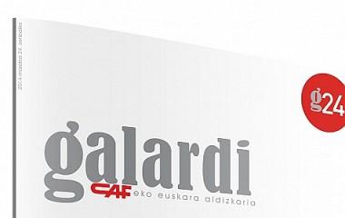 Revista Galardi de CAF | Diseño y maquetación de revista para CAF (Beasain)