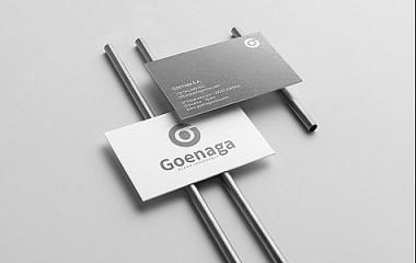Goenaga | desarrollo de identidad corporativa, logotipo (Gipuzkoa)
