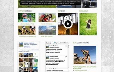 Goierri Turismo | Diseño página web Goierri | Diseño portal web turismo del corazón de Gipuzkoa