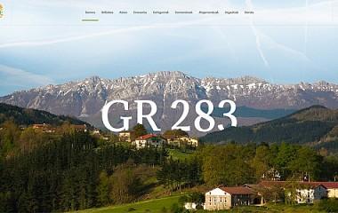 Ruta del queso Idiazabal | diseño web de turismo para la ruta GR283 (Gipuzkoa)