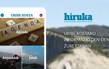 HIRUKA app | agenda eta albisteak dituen app baten garapena, Uribe kosta (Bizkaia)
