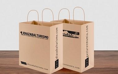 Ayuntamiento de Idiazabal: bolsas de papel | Idiazabal