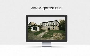 Igartza :: conjunto monumental web responsive para Beasain (Gipuzkoa)