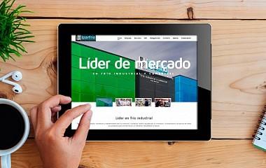 Iparfrío | Rediseño de página web responsive en Villabona, Bilbao y Madrid