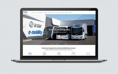 Irizar e-mobility | diseinua eta web garapena, Aduna (Gipuzkoa)