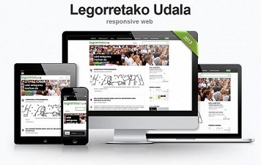 Legorretan.info | Diseño responsive web para el Ayuntamiento de Legorreta en Gipuzkoa