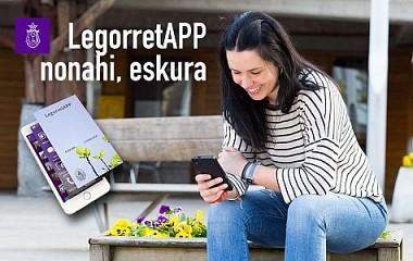 LegorretAPP | diseño de app para Ayuntamiento con Udalapp