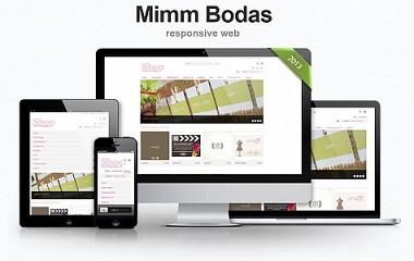 Mimm Bodas | creacion de tienda online en Donosti | Diseño e-commerce Gipuzkoa