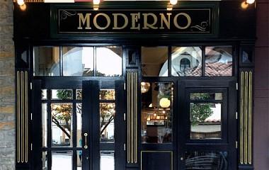 Café Moderno | Rotulación exterior | Ordizia (Gipuzkoa)