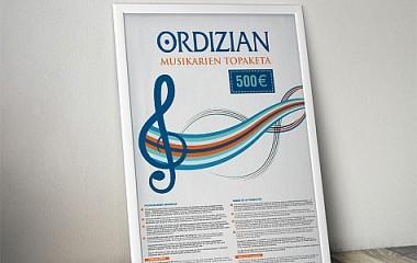 ORDIZIAN EUROPAKO MUSIKARIEN TOPAKETA | ORDIZIAN celebra el encuentro de músicos de Europa