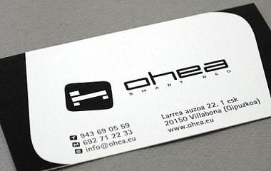 OHEA smart bed | Diseño de logotipo y desarrollo web Villabona (Gipuzkoa)