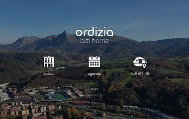 Ordizia.eus udalaren web garapena (Gipuzkoa)