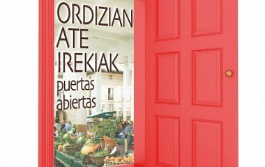 Ordizian Ate Irekiak, diseño de campaña publicitaria (Ordizia)