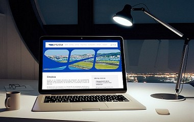 Ortzibia, Aeropuerto de Hondarribia-San Sebastián | diseño web