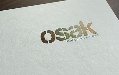 OSAK egur lanak - carpintería | diseño de imagen corporativa, Zarautz (Gipuzkoa)