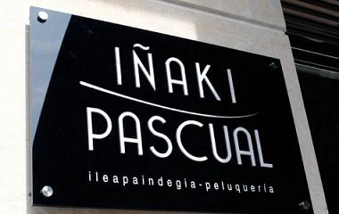 Peluquería Iñaki Pascual | Rotulación exterior | Beasain (Gipuzkoa)
