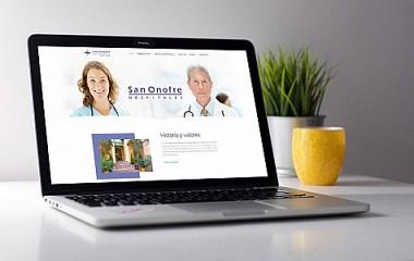 Clínica San Onofre | creación página web profesional (Valencia)