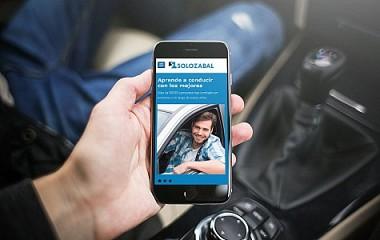 Autoescuelas Solozabal | rediseño web responsive y examenes online (Guipúzcoa y Vizcaya)