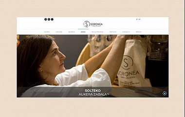 Soronea - denda ekologikoa | web garapena, Tolosa (Gipuzkoa)