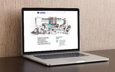 Troqueleria Lautrok | Diseño web para dispositivos moviles en Urretxu (Gipuzkoa)