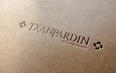 Txanpardin | Diseño de logotipo para Casa Rural de Azpeitia (Gipuzkoa)