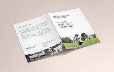 VIVEbioTECH | diseño de catálogo y stand para feria en el BEC (Barakaldo)