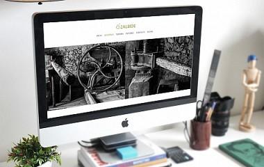 Sidrería Zalbide | Diseño de web responsive en Amezketa (Tolosaldea)