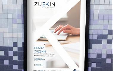 ZUEKIN komunitateak | diseño de logotipo y papeleria, Branding en Gipuzkoa